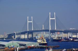 横浜港ベイブリッジ