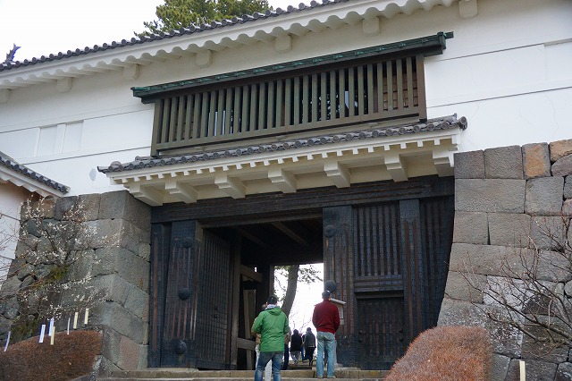 小田原城常盤木門