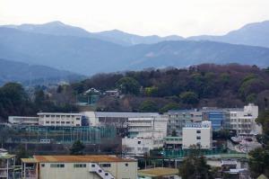 小田原城から丹沢